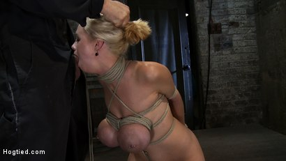 Photo number 6 from EXTRA BONUS UPDATE!<br>Bound deep throat shot for Hogtied on Kink.com. Featuring Katie Kox in hardcore BDSM & Fetish porn.