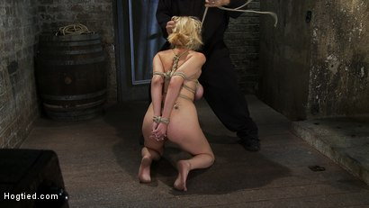Photo number 8 from EXTRA BONUS UPDATE!<br>Bound deep throat shot for Hogtied on Kink.com. Featuring Katie Kox in hardcore BDSM & Fetish porn.