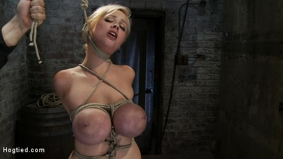Photo number 2 from EXTRA BONUS UPDATE!<br>Bound deep throat shot for Hogtied on Kink.com. Featuring Katie Kox in hardcore BDSM & Fetish porn.