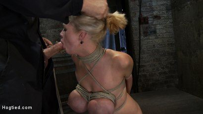Photo number 7 from EXTRA BONUS UPDATE!<br>Bound deep throat shot for Hogtied on Kink.com. Featuring Katie Kox in hardcore BDSM & Fetish porn.