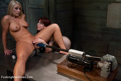 Photo number 6 from Part 3 <br> The MILF Mall Cop final shake down shot for Fucking Machines on Kink.com. Featuring Mellanie Monroe and Jessi Palmer in hardcore BDSM & Fetish porn.