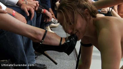 Photo number 6 from ROUND FOUR: <br>Team Ice (0-1) vs The Pirates (0-1) shot for Ultimate Surrender on Kink.com. Featuring Dia Zerva, Jessie Cox, Ariel X and Mellanie Monroe in hardcore BDSM & Fetish porn.