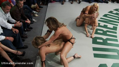 Photo number 9 from ROUND FOUR: <br>Team Ice (0-1) vs The Pirates (0-1) shot for Ultimate Surrender on Kink.com. Featuring Dia Zerva, Jessie Cox, Ariel X and Mellanie Monroe in hardcore BDSM & Fetish porn.