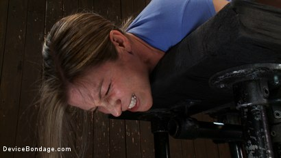 Photo number 12 from Is this Downward Dog? shot for Device Bondage on Kink.com. Featuring Lindsey Grant in hardcore BDSM & Fetish porn.