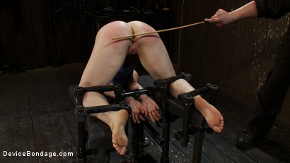 Photo number 10 from Is this Downward Dog? shot for Device Bondage on Kink.com. Featuring Lindsey Grant in hardcore BDSM & Fetish porn.