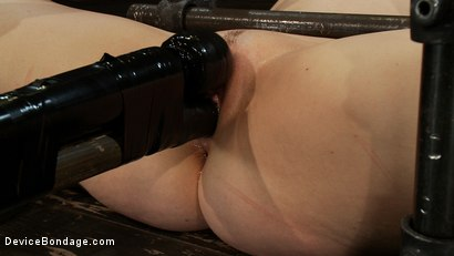 Photo number 8 from Hot Yogi metal-bound in a split, meditates on pleasure and pain. shot for Device Bondage on Kink.com. Featuring Lindsey Grant in hardcore BDSM & Fetish porn.