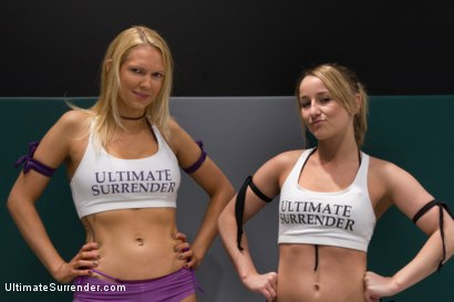 Photo number 2 from SUMMER VENGEANCE ROUND 1 ACTION<BR> Ranked<br>13TH VS 14TH shot for Ultimate Surrender on Kink.com. Featuring Jessie Cox and Rain DeGrey in hardcore BDSM & Fetish porn.