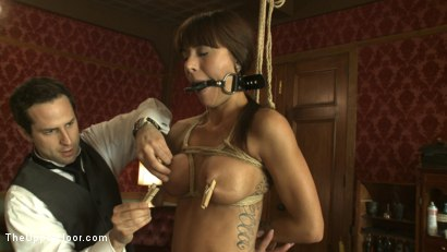 Photo number 5 from Special Event Training shot for The Upper Floor on Kink.com. Featuring Cherry Torn and Gia DiMarco in hardcore BDSM & Fetish porn.