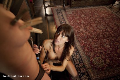 Photo number 11 from Special Event Training shot for The Upper Floor on Kink.com. Featuring Cherry Torn and Gia DiMarco in hardcore BDSM & Fetish porn.