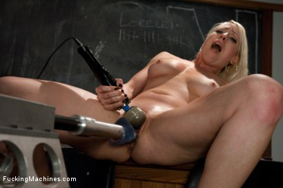 Photo number 6 from 15 Orgasms and one more for good luck shot for Fucking Machines on Kink.com. Featuring Lorelei Lee in hardcore BDSM & Fetish porn.