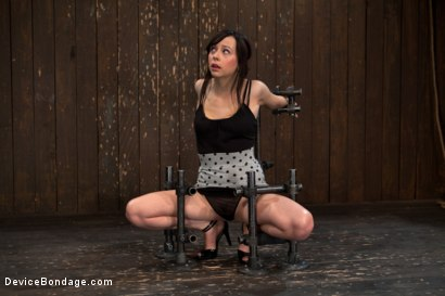 Photo number 4 from How cute is too cute? shot for Device Bondage on Kink.com. Featuring Lindy Lane in hardcore BDSM & Fetish porn.