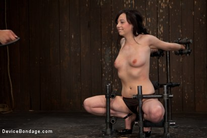 Photo number 6 from How cute is too cute? shot for Device Bondage on Kink.com. Featuring Lindy Lane in hardcore BDSM & Fetish porn.