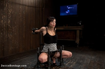 Photo number 1 from How cute is too cute? shot for Device Bondage on Kink.com. Featuring Lindy Lane in hardcore BDSM & Fetish porn.