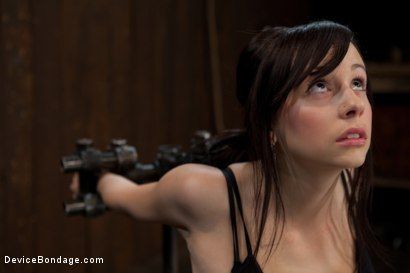 Photo number 3 from How cute is too cute? shot for Device Bondage on Kink.com. Featuring Lindy Lane in hardcore BDSM & Fetish porn.