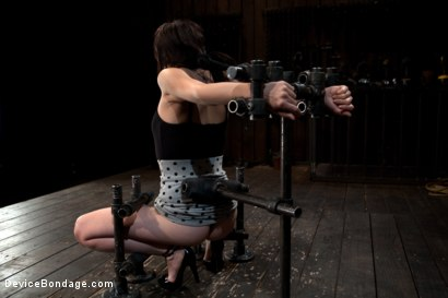 Photo number 5 from How cute is too cute? shot for Device Bondage on Kink.com. Featuring Lindy Lane in hardcore BDSM & Fetish porn.