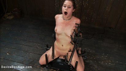 Photo number 8 from Part 3 of 4 of the<br> May live show. shot for Device Bondage on Kink.com. Featuring Isis Love, Charlotte Vale and Maggie Mayhem in hardcore BDSM & Fetish porn.