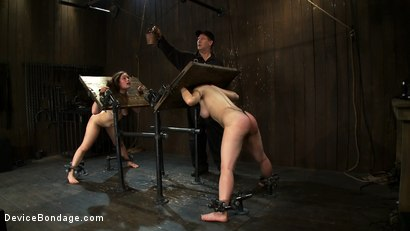 Photo number 7 from Part 4 of 4 of the May live show. shot for Device Bondage on Kink.com. Featuring Isis Love, Charlotte Vale and Maggie Mayhem in hardcore BDSM & Fetish porn.