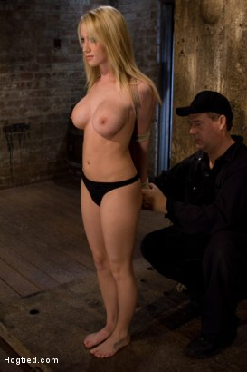Photo number 14 from ANGELIC SUFFERING  shot for Hogtied on Kink.com. Featuring Madison Scott in hardcore BDSM & Fetish porn.