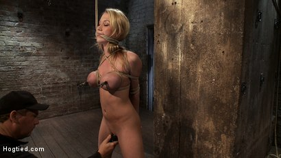 Photo number 5 from ANGELIC SUFFERING  shot for Hogtied on Kink.com. Featuring Madison Scott in hardcore BDSM & Fetish porn.