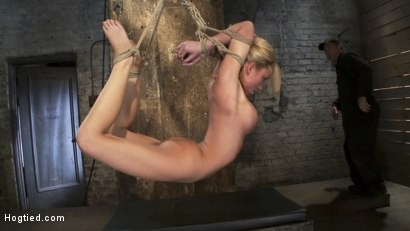 Photo number 13 from Category 5<br>Modified Hogtied Suspension  shot for Hogtied on Kink.com. Featuring Madison Scott in hardcore BDSM & Fetish porn.