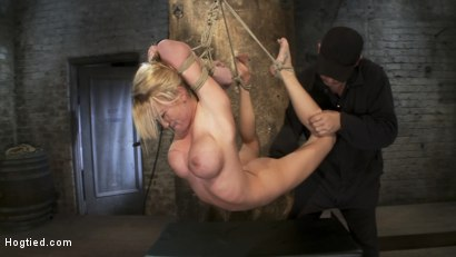 Photo number 14 from Category 5<br>Modified Hogtied Suspension  shot for Hogtied on Kink.com. Featuring Madison Scott in hardcore BDSM & Fetish porn.