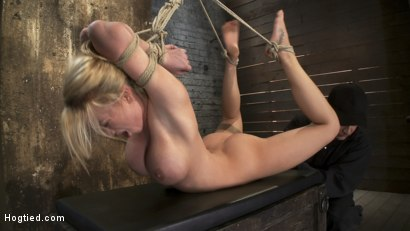 Photo number 10 from Category 5  Modified Hogtied Suspension shot for Hogtied on Kink.com. Featuring Madison Scott in hardcore BDSM & Fetish porn.