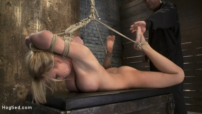 Photo number 8 from Category 5<br>Modified Hogtied Suspension  shot for Hogtied on Kink.com. Featuring Madison Scott in hardcore BDSM & Fetish porn.
