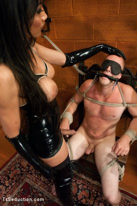 Photo number 1 from Take it to the next level shot for TS Seduction on Kink.com. Featuring Yasmin Lee and Rocky in hardcore BDSM & Fetish porn.