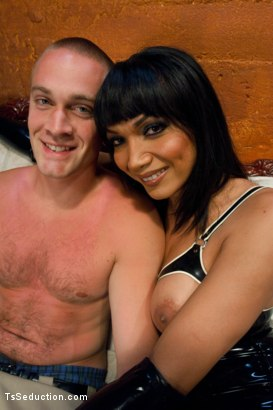 Photo number 15 from Take it to the next level shot for TS Seduction on Kink.com. Featuring Yasmin Lee and Rocky in hardcore BDSM & Fetish porn.
