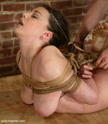 Photo number 10 from Mallory Knots shot for Hogtied on Kink.com. Featuring Mallory Knots in hardcore BDSM & Fetish porn.