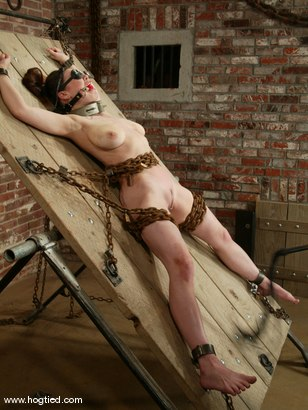 Photo number 1 from Mallory Knots shot for Hogtied on Kink.com. Featuring Mallory Knots in hardcore BDSM & Fetish porn.