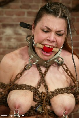 Photo number 5 from Mallory Knots shot for Hogtied on Kink.com. Featuring Mallory Knots in hardcore BDSM & Fetish porn.