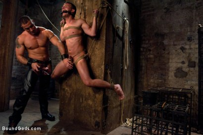 Photo number 5 from The Submission of Cameron Adams shot for Bound Gods on Kink.com. Featuring Spencer Reed and Cameron Adams in hardcore BDSM & Fetish porn.