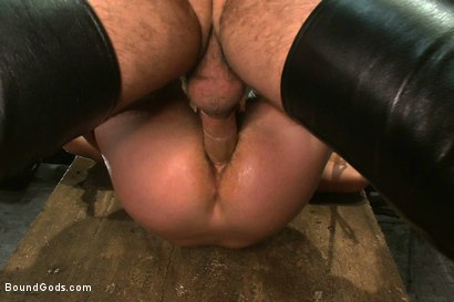 Photo number 13 from The Submission of Cameron Adams shot for Bound Gods on Kink.com. Featuring Spencer Reed and Cameron Adams in hardcore BDSM & Fetish porn.