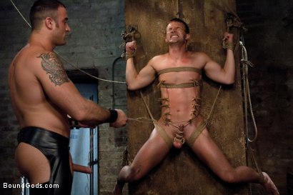 Photo number 7 from The Submission of Cameron Adams shot for Bound Gods on  Kink.