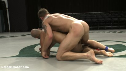 Photo number 11 from Trent Diesel vs Patrick Rouge - Round 1 <Br> Trent Diesel vs Alex Slater - Round 2 & 3 shot for Naked Kombat on Kink.com. Featuring Patrick Rouge, Trent Diesel and Alex Slater in hardcore BDSM & Fetish porn.