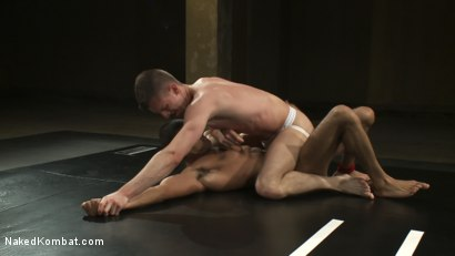 Photo number 6 from Troy Daniels vs Sami Damo <br> The Oil Match shot for Naked Kombat on Kink.com. Featuring Troy Daniels and Sami Damo in hardcore BDSM & Fetish porn.
