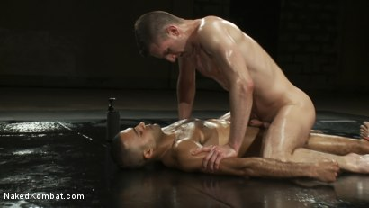 Photo number 13 from Troy Daniels vs Sami Damo <br> The Oil Match shot for Naked Kombat on Kink.com. Featuring Troy Daniels and Sami Damo in hardcore BDSM & Fetish porn.