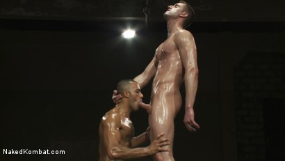 Photo number 11 from Troy Daniels vs Sami Damo <br> The Oil Match shot for Naked Kombat on Kink.com. Featuring Troy Daniels and Sami Damo in hardcore BDSM & Fetish porn.