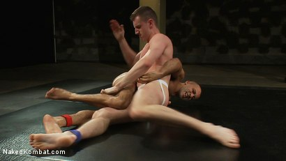 Photo number 5 from Troy Daniels vs Sami Damo <br> The Oil Match shot for Naked Kombat on Kink.com. Featuring Troy Daniels and Sami Damo in hardcore BDSM & Fetish porn.