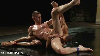 Photo number 9 from Troy Daniels vs Sami Damo <br> The Oil Match shot for Naked Kombat on Kink.com. Featuring Troy Daniels and Sami Damo in hardcore BDSM & Fetish porn.