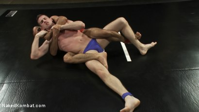 Photo number 1 from Troy Daniels vs Sami Damo <br> The Oil Match shot for Naked Kombat on Kink.com. Featuring Troy Daniels and Sami Damo in hardcore BDSM & Fetish porn.