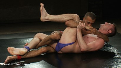 Photo number 2 from Troy Daniels vs Sami Damo <br> The Oil Match shot for Naked Kombat on Kink.com. Featuring Troy Daniels and Sami Damo in hardcore BDSM & Fetish porn.
