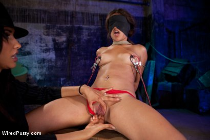 Photo number 5 from Who's the Hottest Pimp in Town? shot for Wired Pussy on Kink.com. Featuring Isis Love and Jynx Maze in hardcore BDSM & Fetish porn.