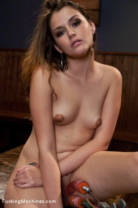 Photo number 1 from Anal fucking in the bar shot for Fucking Machines on Kink.com. Featuring Allie Haze in hardcore BDSM & Fetish porn.