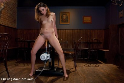 Photo number 2 from Anal fucking in the bar shot for Fucking Machines on Kink.com. Featuring Allie Haze in hardcore BDSM & Fetish porn.
