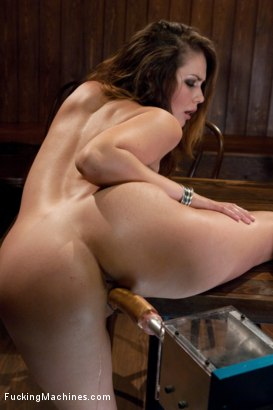 Photo number 8 from Anal fucking in the bar shot for Fucking Machines on Kink.com. Featuring Allie Haze in hardcore BDSM & Fetish porn.