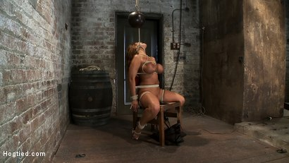 Photo number 14 from Classic Hogtied<br>Big Titted MILF in the chair<br>Orgasm after Orgasm no Mercy shot for Hogtied on Kink.com. Featuring Ava Devine in hardcore BDSM & Fetish porn.