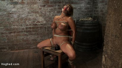 Photo number 8 from Classic Hogtied<br>Big Titted MILF in the chair<br>Orgasm after Orgasm no Mercy shot for Hogtied on Kink.com. Featuring Ava Devine in hardcore BDSM & Fetish porn.