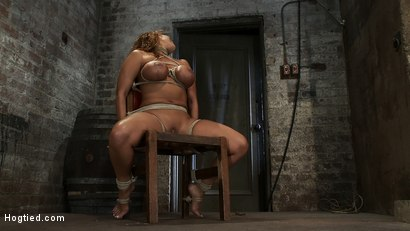 Photo number 1 from Classic Hogtied<br>Big Titted MILF in the chair<br>Orgasm after Orgasm no Mercy shot for Hogtied on Kink.com. Featuring Ava Devine in hardcore BDSM & Fetish porn.